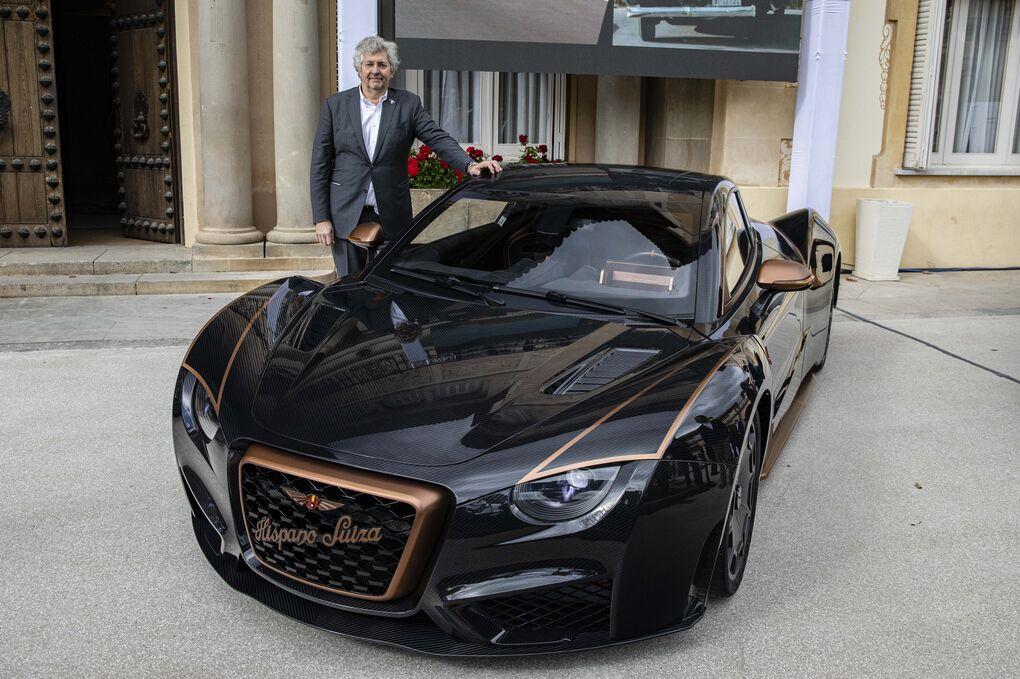 El coche eléctrico más caro y potente del mundo es español: 1.115 CV, 2 millones de euros