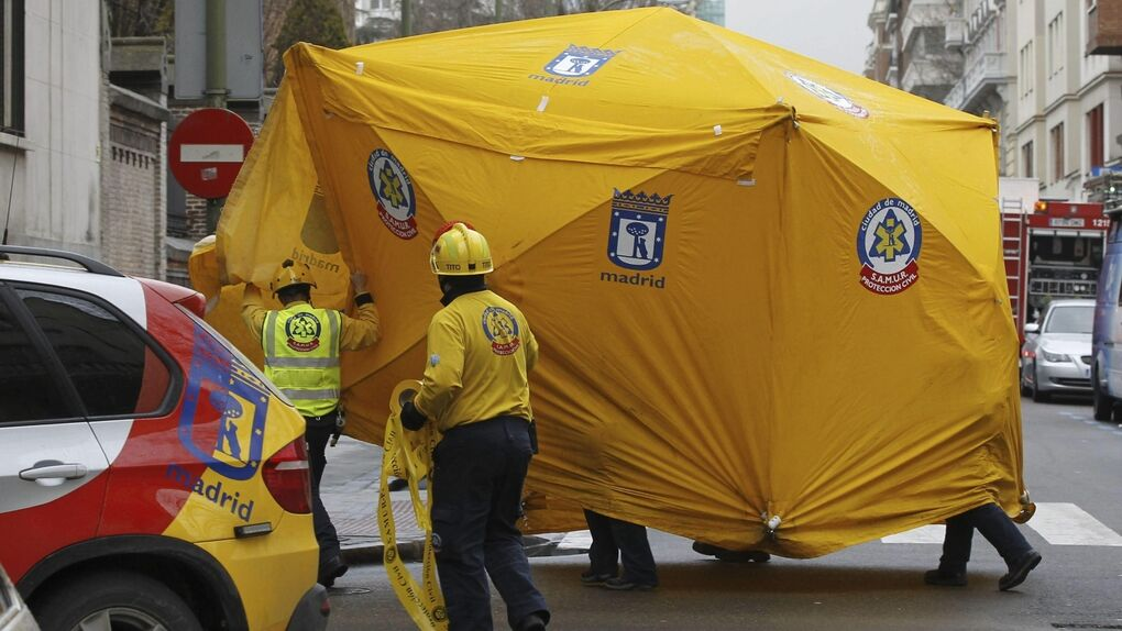 Tres heridos por una explosión en la sala de calderas de La Milagrosa, clínica donde está ingresado el Rey