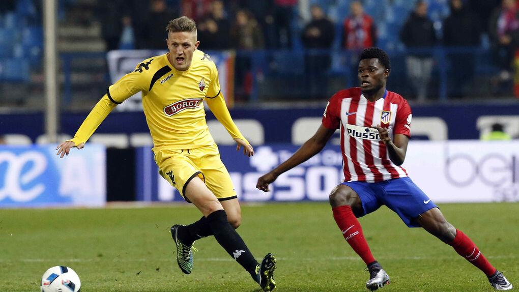 Un Atlético plagado de suplentes vence al Reus gracias a un gol de Thomas (1-0)