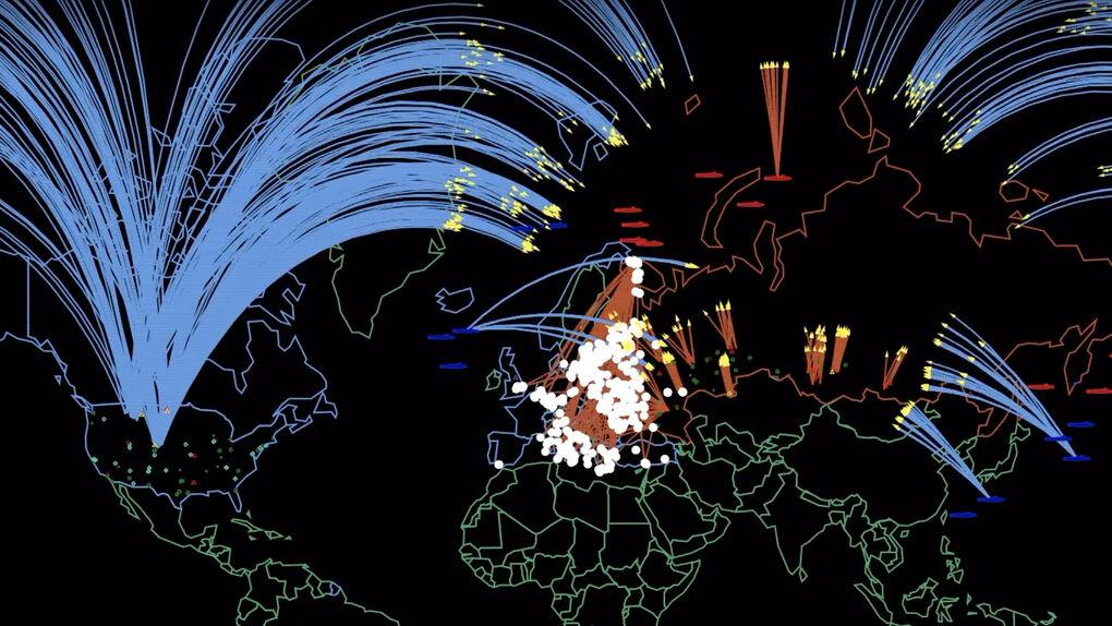 Así sería una guerra nuclear entre EE.UU.  y Rusia en 2019, según Princeton
