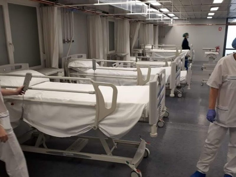 Aumentan los muertos por covid en Madrid a 37