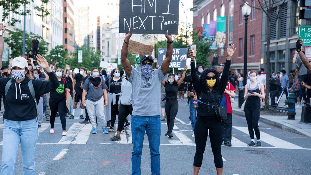 Donald Trump tuvo que protegerse en el búnker de la Casa Blanca por los disturbios