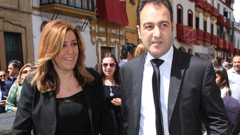 El marido de Susana Díaz cobró dinero de ayudas en las que presuntamente se desviaron fondos