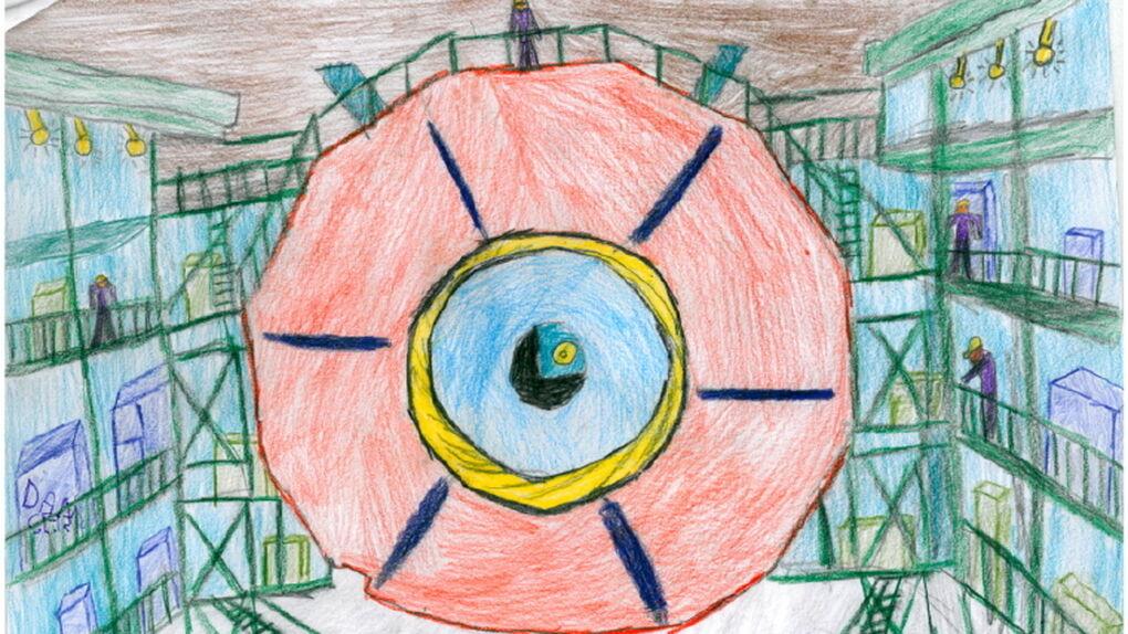 Los niños dibujan el bosón de Higgs