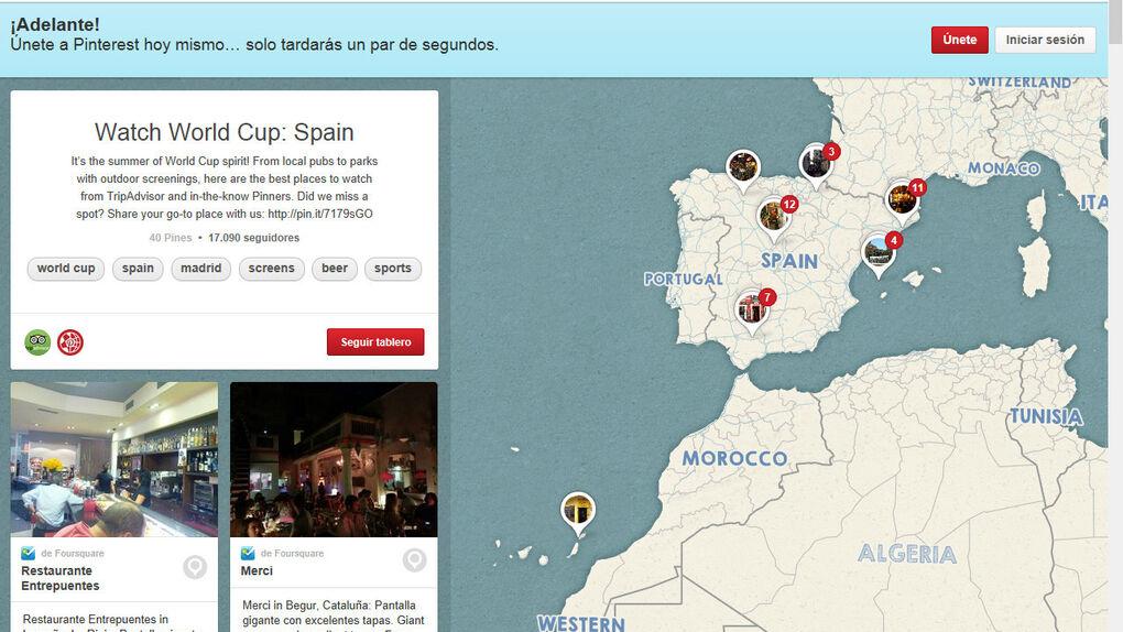 Elegir los mejores sitios del globo para ver el Mundial de fútbol