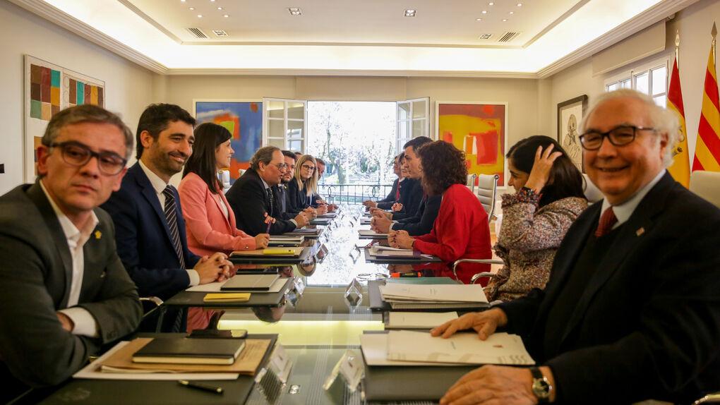 da dos años a la Mesa de Diálogo con Moncloa antes de volver al 'choque' con el Estado