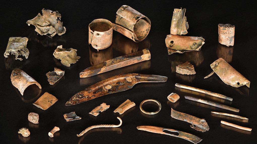 Lo que la mochila de un guerrero revela sobre la mayor batalla de la antigüedad