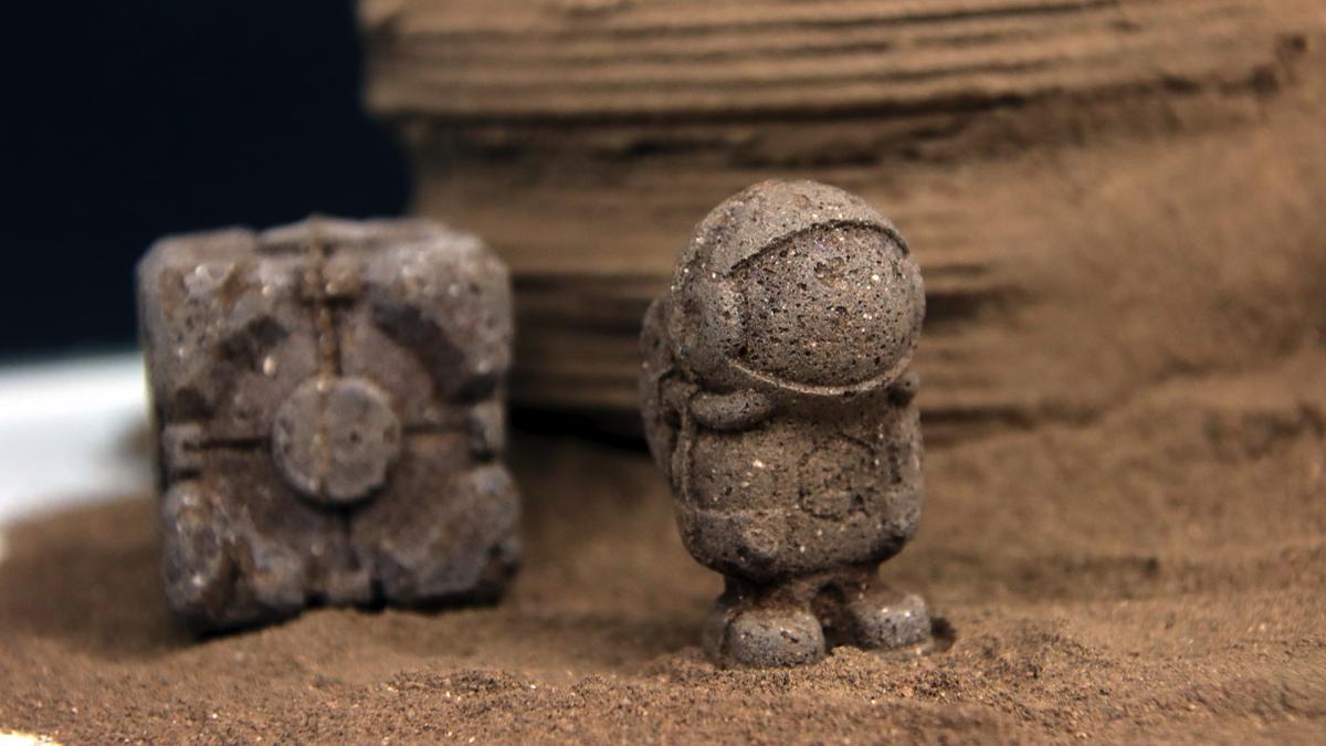 """""""Polvo de langostas"""" para construir en Marte"""