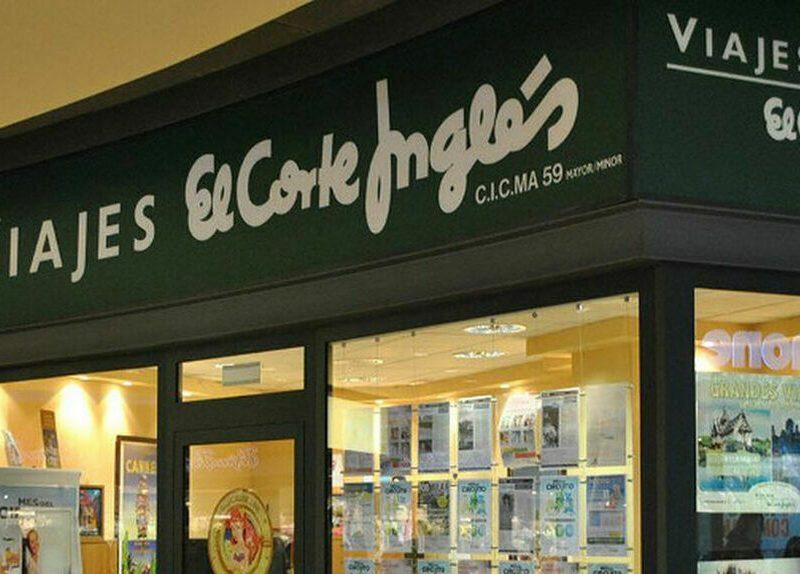 """El Corte Inglés reabre algunas de sus oficinas de viajes por un """"ligero"""" aumento de demanda"""