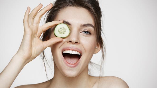El pepino es uno de los ingredientes naturales básicos para la rutina de belleza rusa