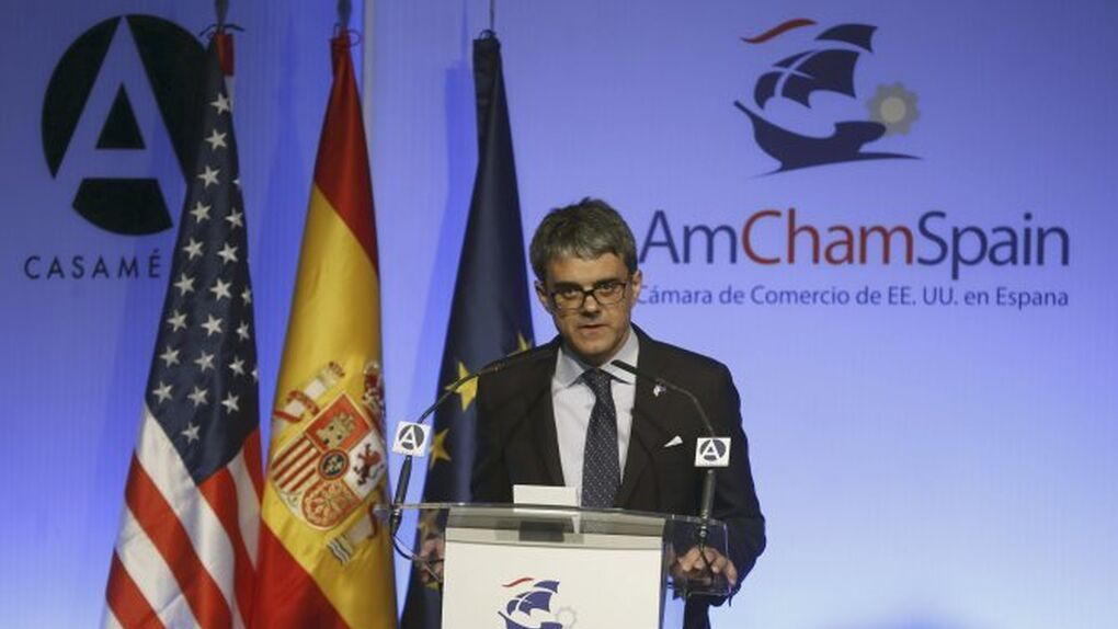 """El Presidente de la Cámara de EEUU en España: """"las empresas pueden irse de Cataluña si hay inseguridad jurídica"""""""