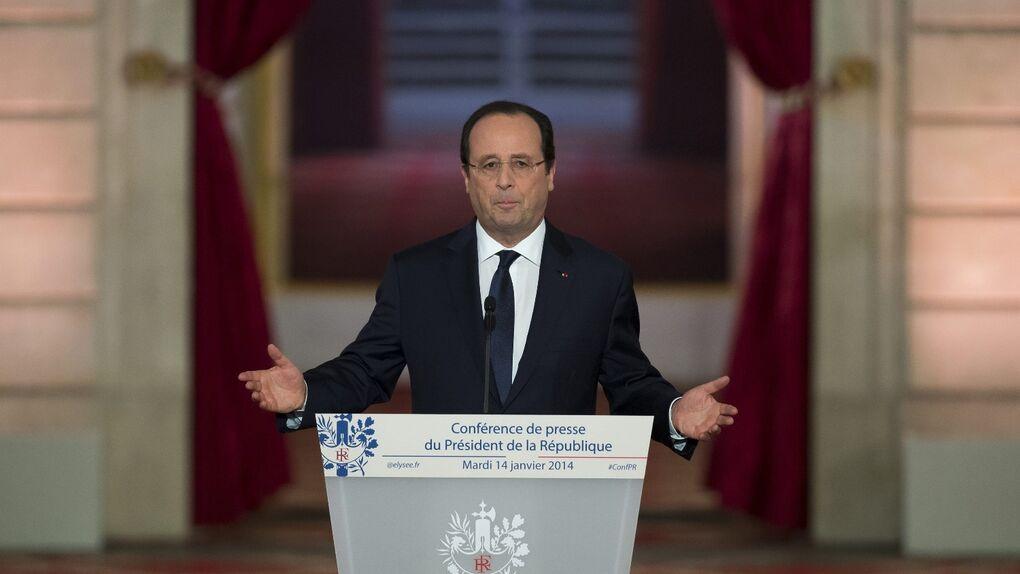Hollande promete aclarar si tiene o no primera dama antes de viajar el 11 de febrero a USA