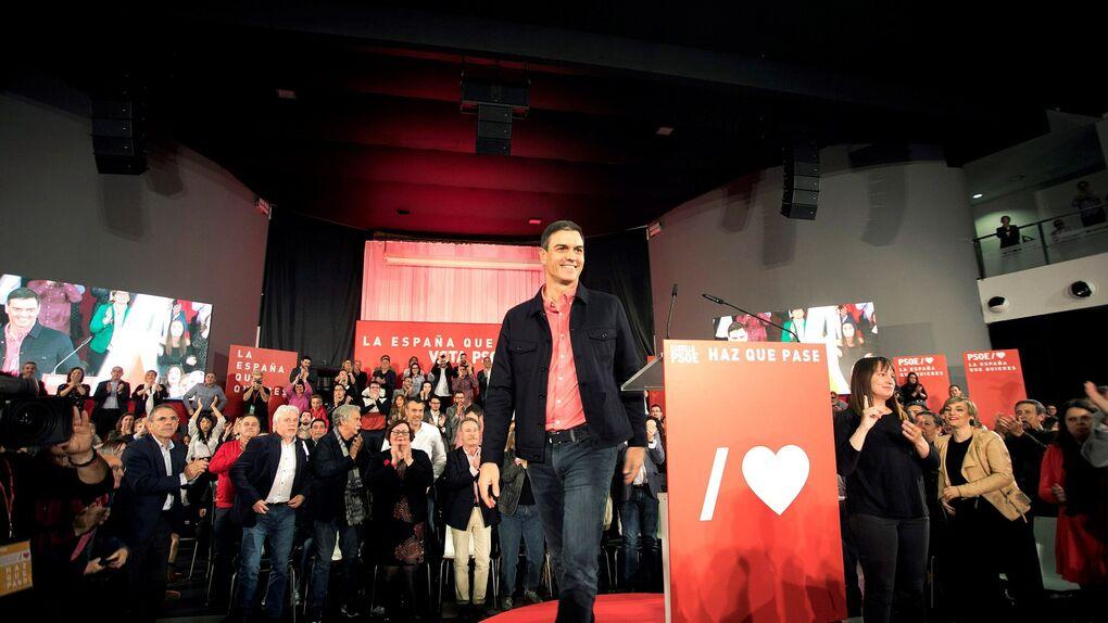 Pedro Sánchez compara a Vox con la Fuerza Nueva de Blas Piñar