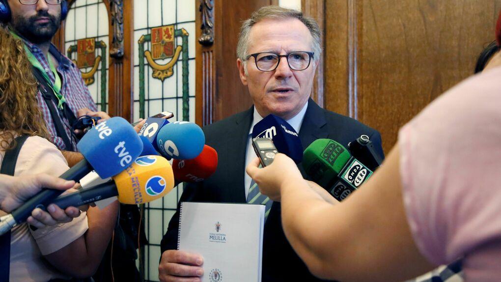 """Nuevo choque en Cs: el presidente de Melilla descartó pactar con PP y Vox porque llevaría la ciudad """"al precipicio"""""""