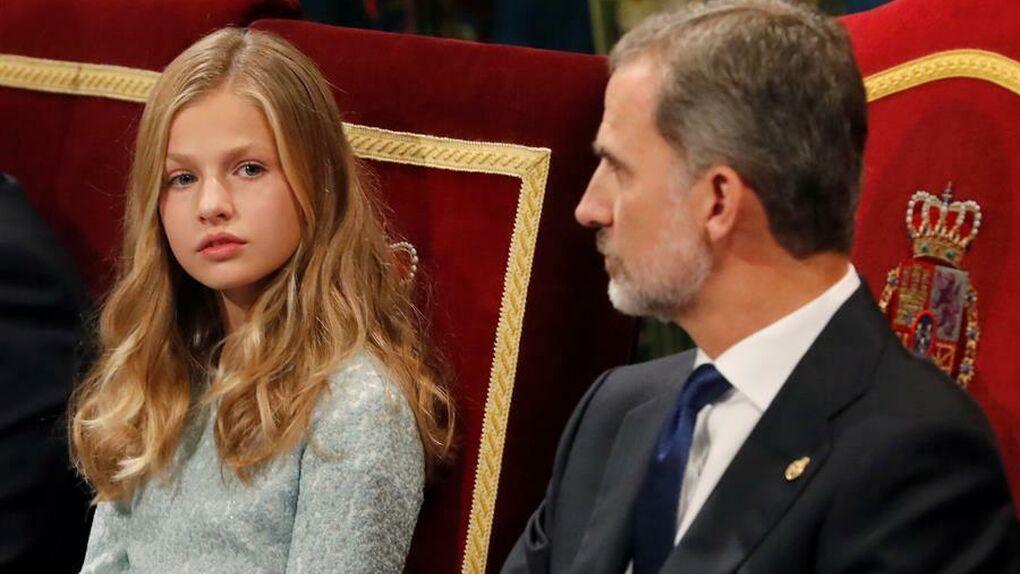 En directo | La princesa Leonor preside su primer acto en solitario