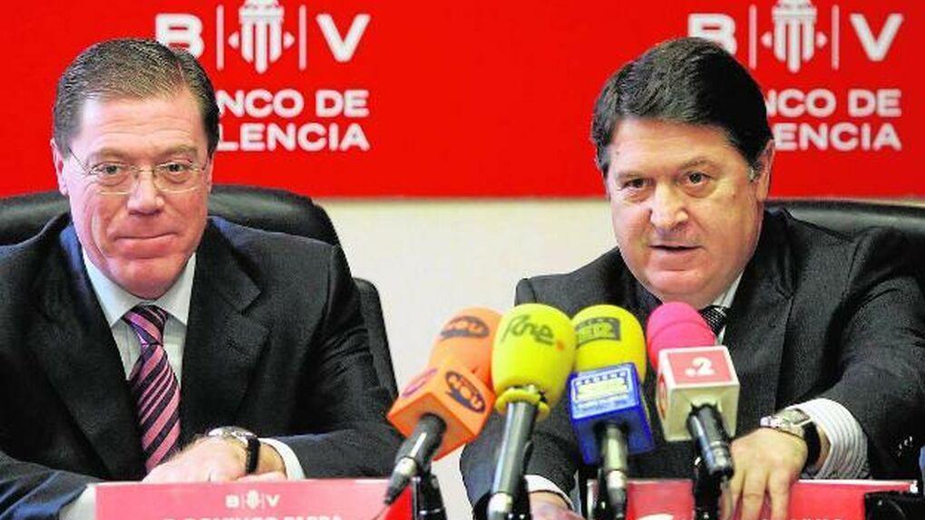 El juez procesará a la excúpula de Banco de Valencia por falsedad contable