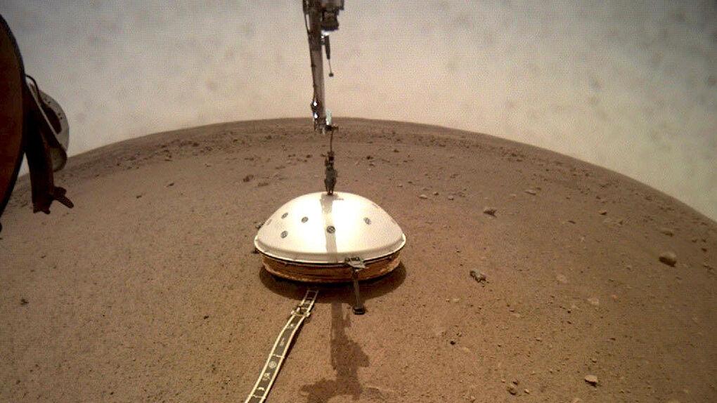 El sismómetro de InSight registró más de 170 terremotos en Marte
