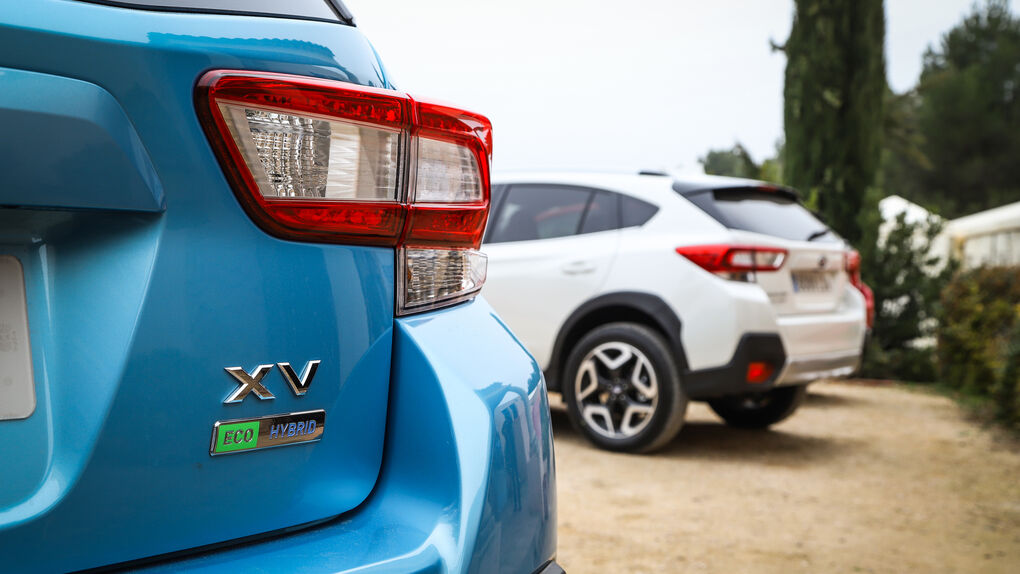 Probamos los últimos SUV con tecnología híbrida y etiquetas ECO de Subaru y Suzuki