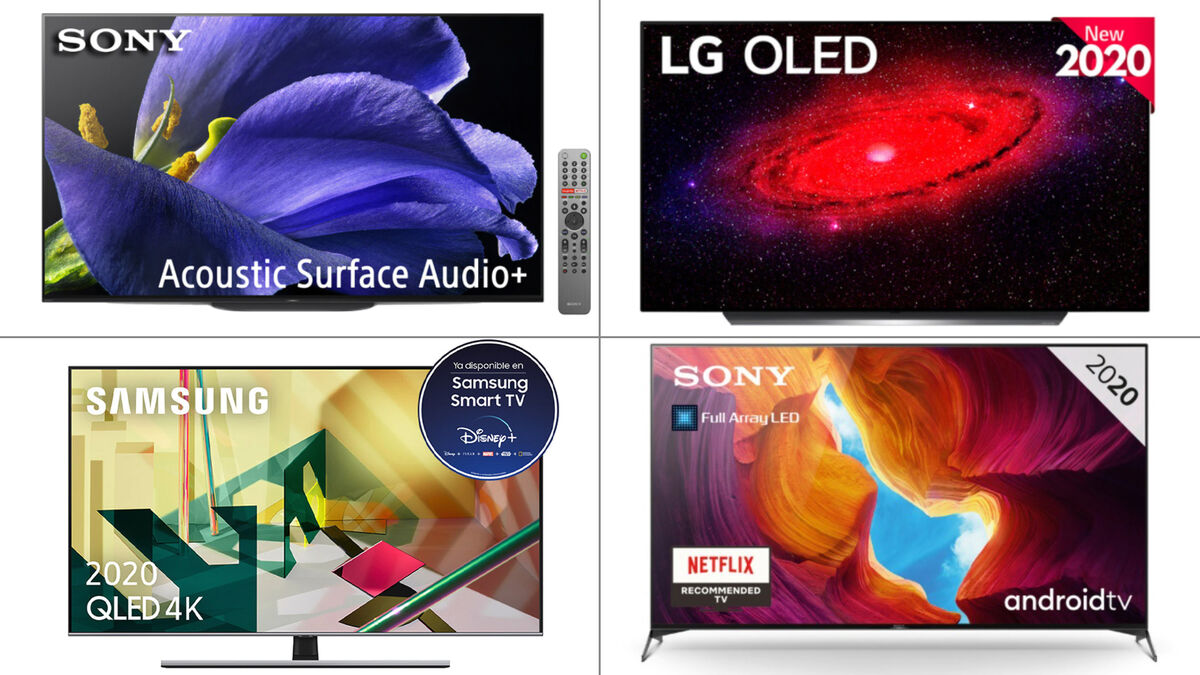 Estos son los televisores que debes comprar este Black Friday