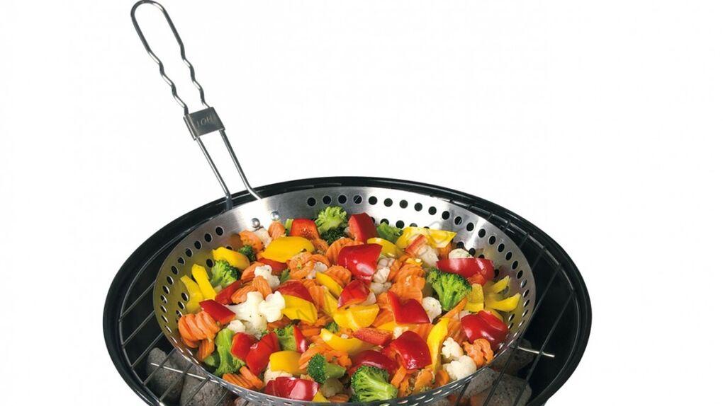 El wok que no invade mi cocina