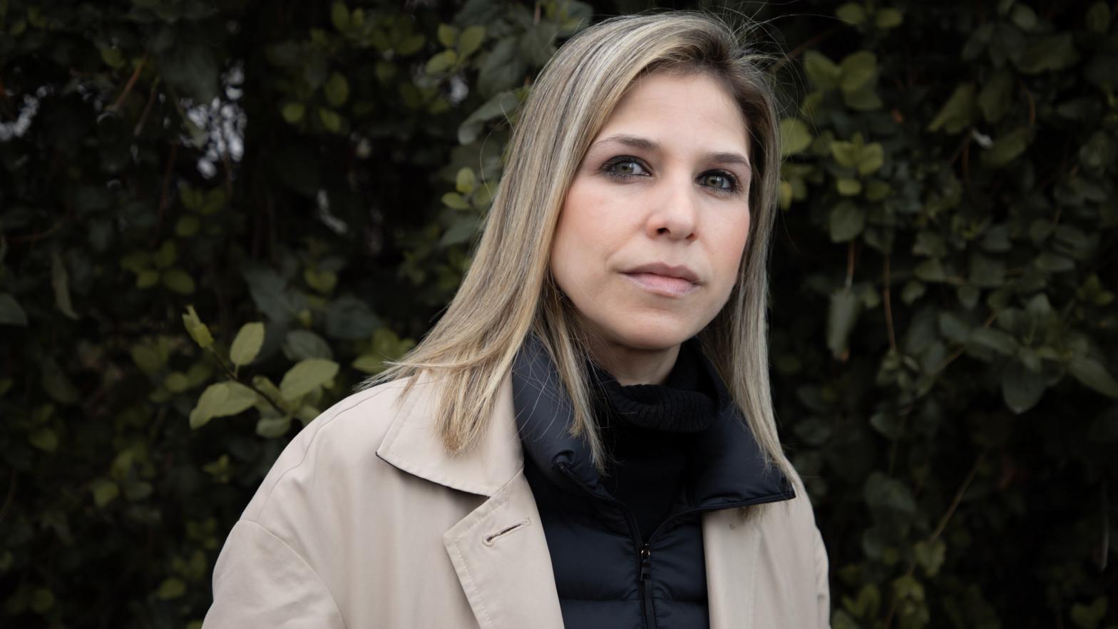 Karina Sainz Borgo en la entrevista para Vozpópuli