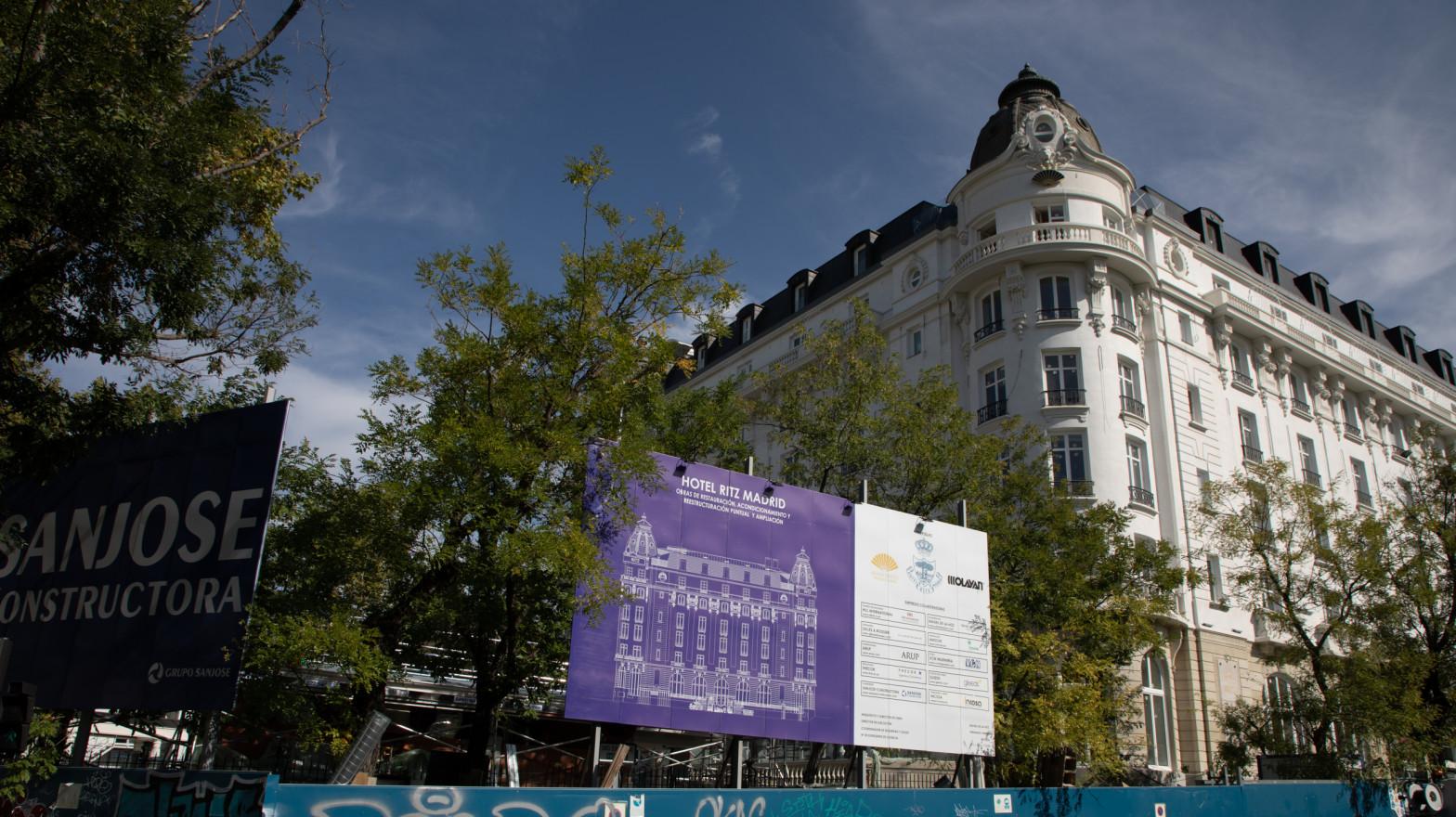 Mandarin reabrirá el hotel Ritz de Madrid en abril tras más de un año de retrasos