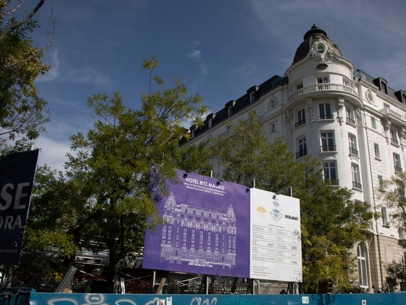 Hotel Ritz en obras