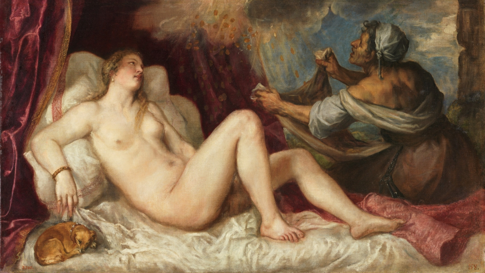 Así son las 'poesías' eróticas que Tiziano pintó para Felipe II
