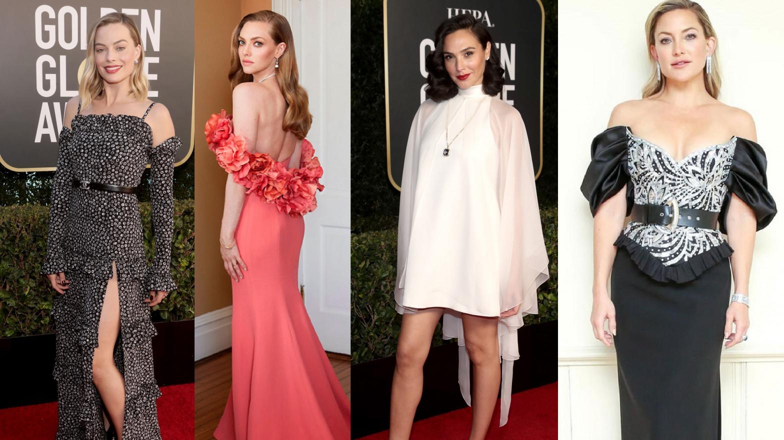 Globos de Oro 2021: los mejor y peor vestidos de la alfombra roja