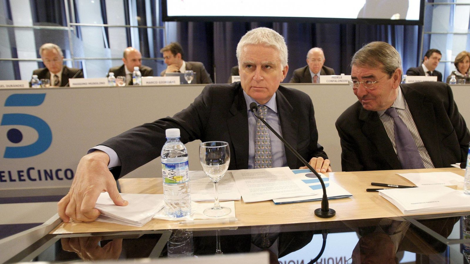 Paolo Vasile fue el directivo de televisión mejor pagado en 2020: 1,9 millones de euros