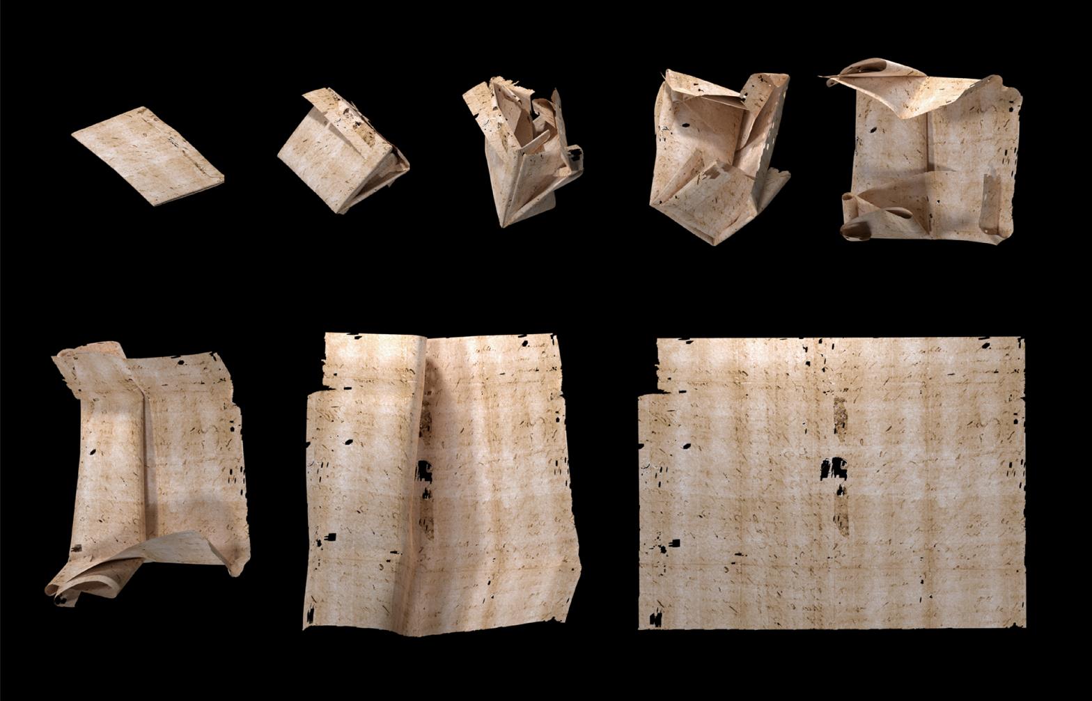 """Cómo leer las cartas """"secretas"""" del Renacimiento sin abrirlas"""