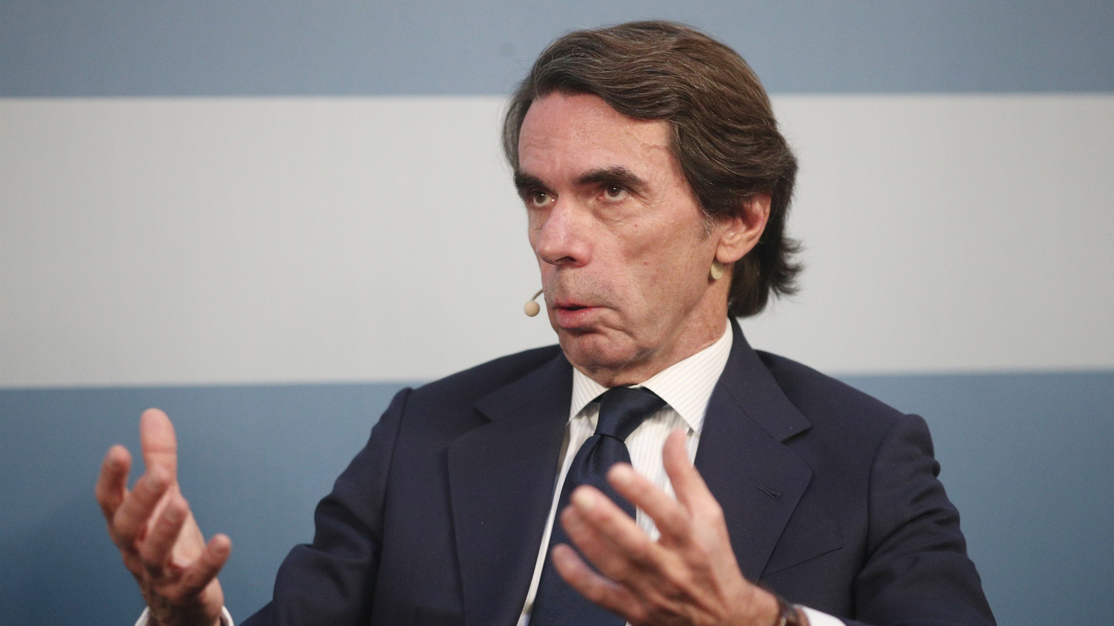 """Aznar asegura que la fragmentación de la izquierda tras el 4-M va a """"radicalizar más"""" el Gobierno de Sánchez"""