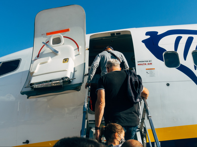 El tráfico de pasajeros de Ryanair cayó el 95 % en febrero