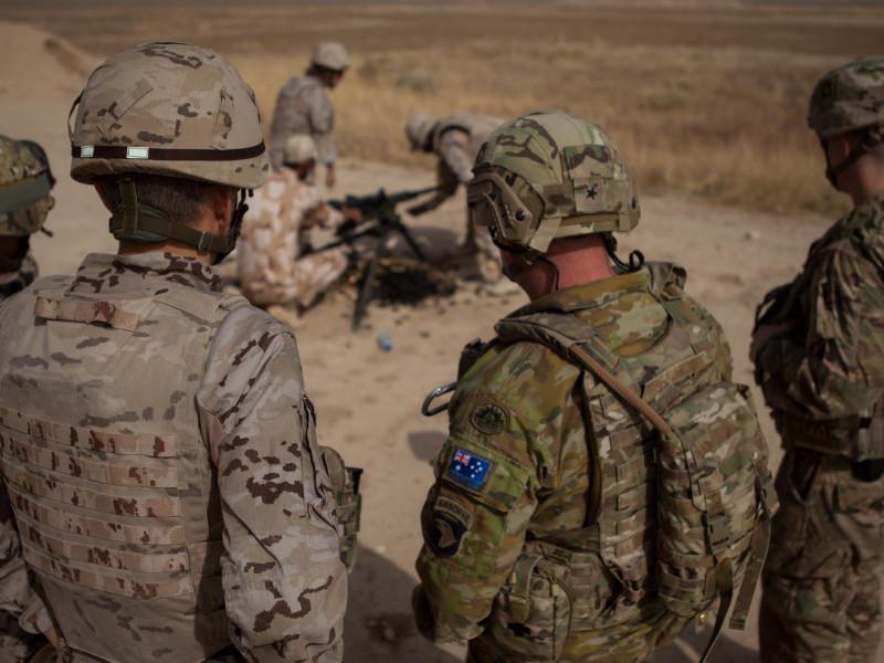 Base militar en Irak.
