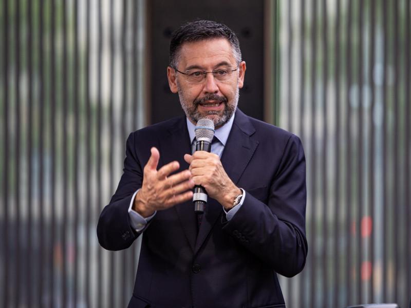 El expresidente del Fútbol Club Barcelona, Josep María Bartomeu