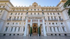 Gran Hotel Miramar, un escenario de película para recibir a los protagonistas de los Goya