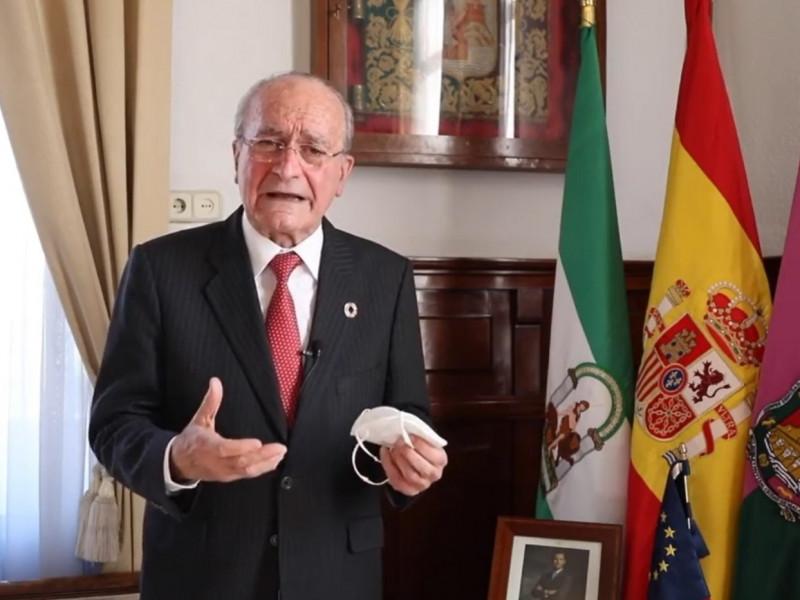 El alcalde de Málaga, Francisco de la Torre.