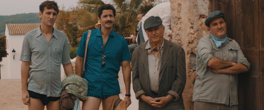 Raúl Arévalo y Juan Diego Botto en la película Los europeos.