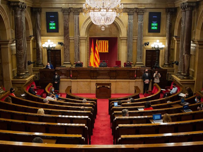 PSC, ERC, Junts, comuns y CUP se reúnen para abordar la estrategia para aislar a Vox en Cataluña