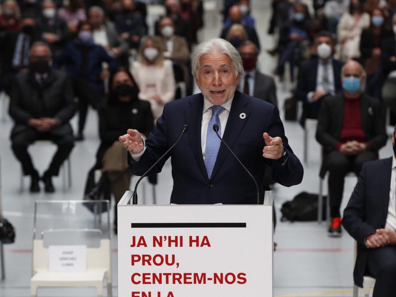 El presidente de Foment del Treball, Josep Sánchez Llibre
