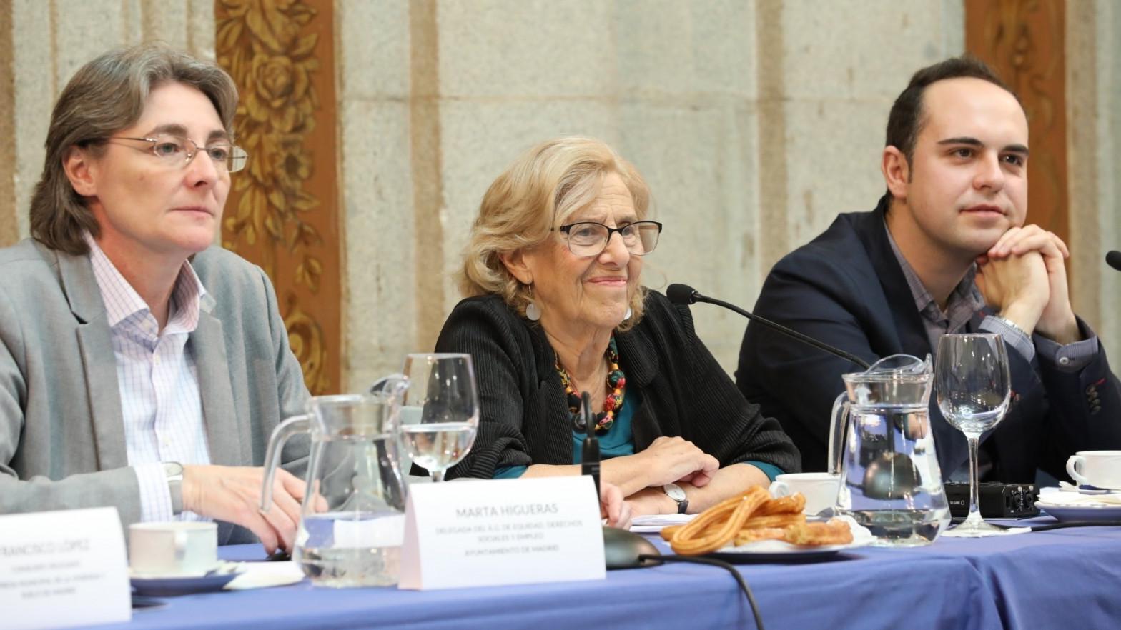 Podemos usará a los ediles de Carmena para forzar una alianza con el PSOE en Madrid