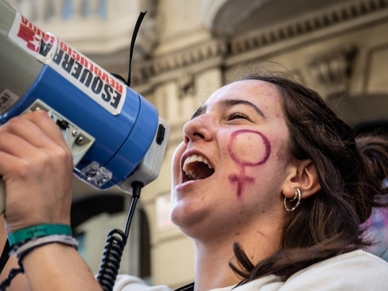 La manifestación estática del 8-M en Barcelona tendrá 3.500 plazas