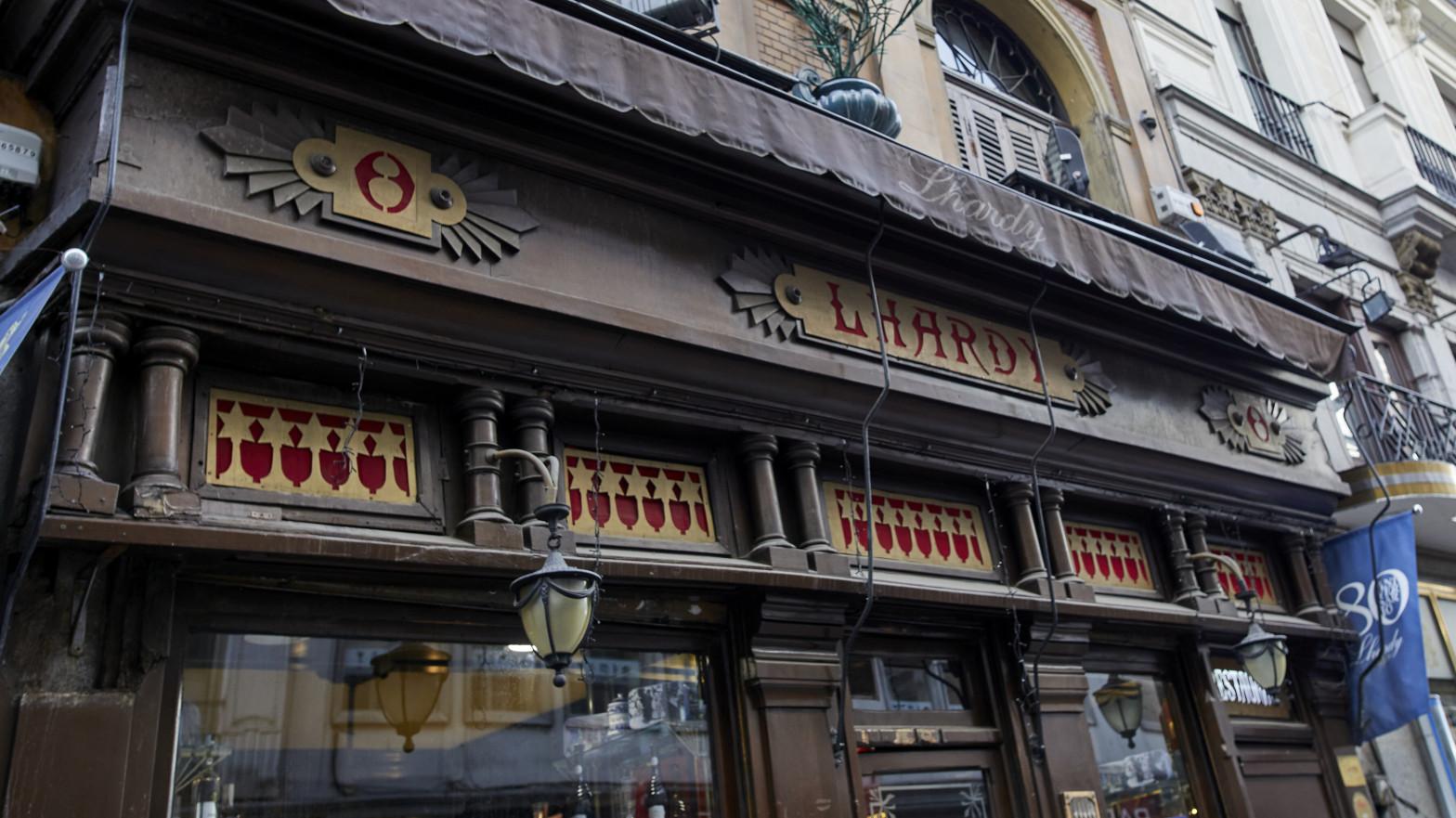 El restaurante Lhardy, en Madrid (España).
