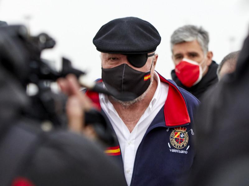 Villarejo declara ante el juez un día después de salir de prisión