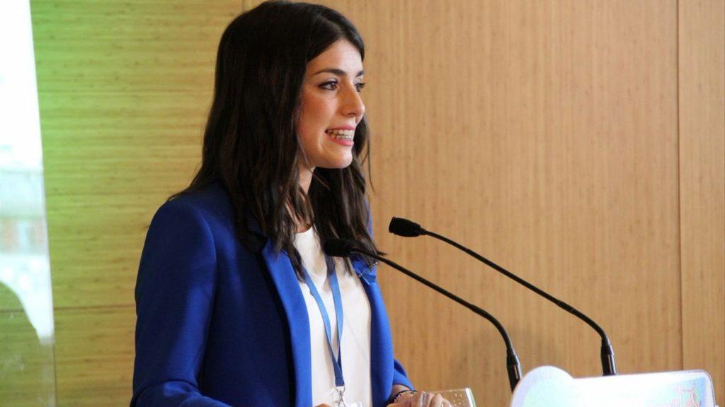 La presidenta de Nuevas Generaciones del PP en Cataluña, Irene Pardo.