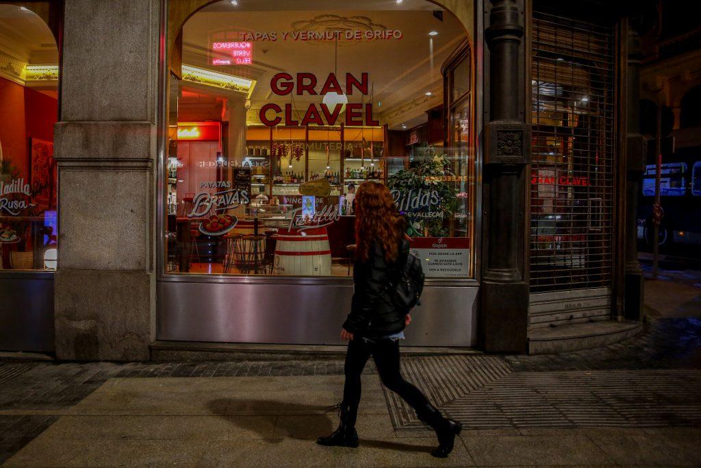 Un comercio en Madrid.