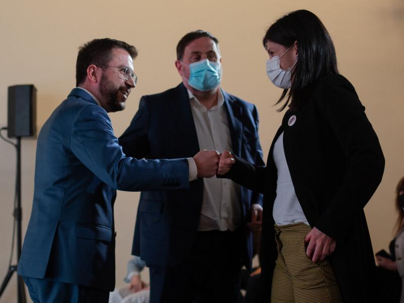 Junts se abstendrá en la investidura de Aragonès y da oxígeno a Sánchez para el 4-M