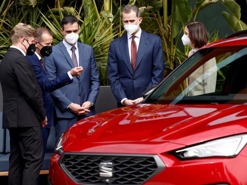 El rey Felipe no quiere que Volkswagen deje Cataluña