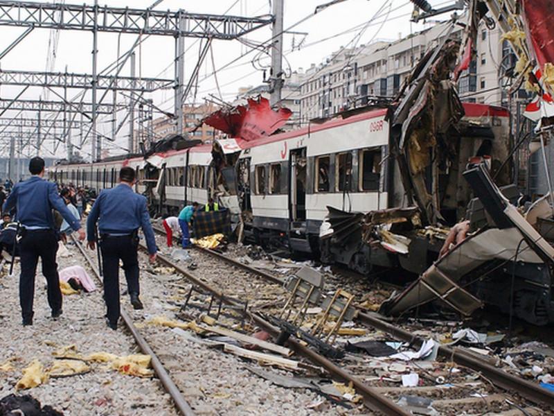 La estación de Atocha tras el atentado