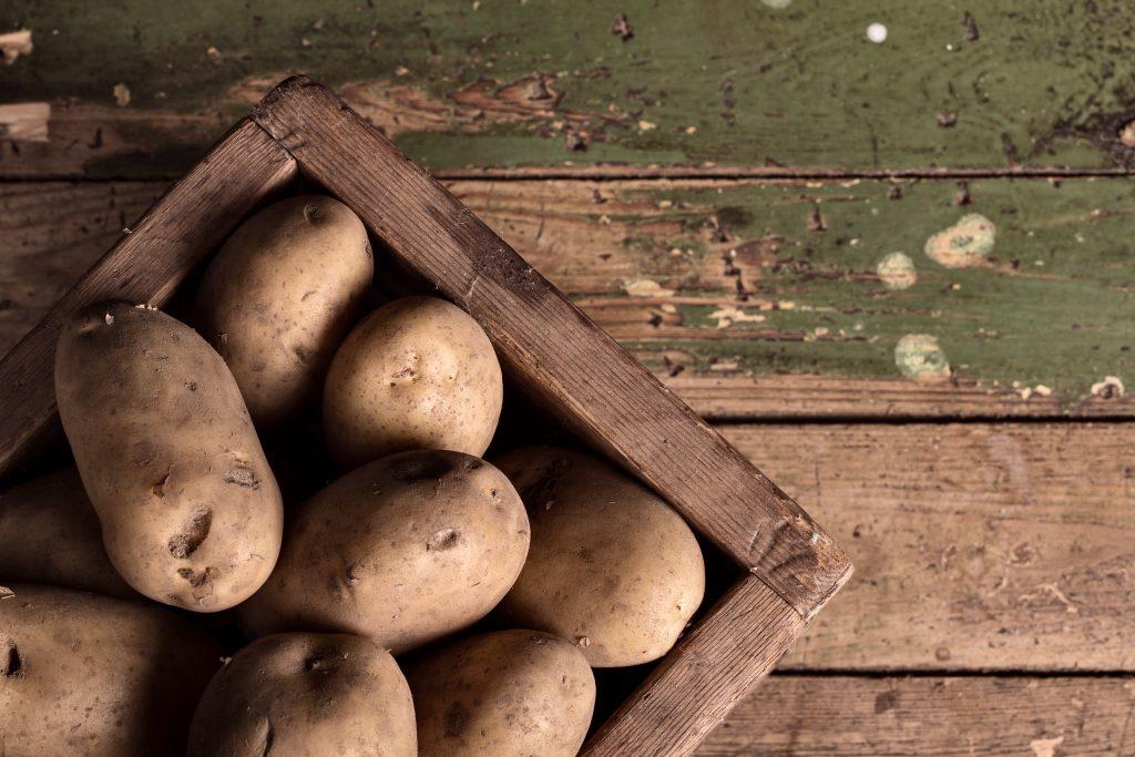 Patatas para hacer un puré de patatas
